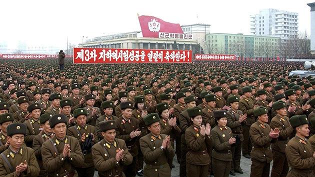 Fotos: Corea del Norte celebra el éxito del ensayo nuclear con un desfile masivo