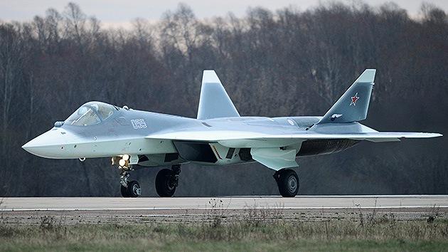 Sukhoi pone a la vista la invisibilidad del T-50