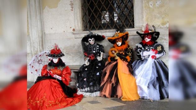 'La vida es un teatro': arranca el Carnaval de Venecia