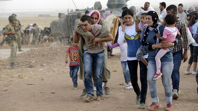 El Estado Islámico sitia una ciudad kurda en la frontera sirio-turca