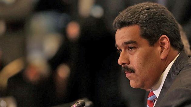 """Nicolás Maduro: """"La derecha en Venezuela recibe órdenes de los EE.UU."""""""
