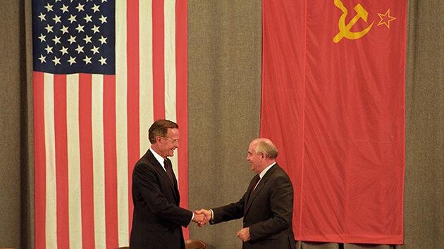 Mijaíl Gorbachov advierte del peligro de una segunda Guerra Fría entre EE.UU. y Rusia