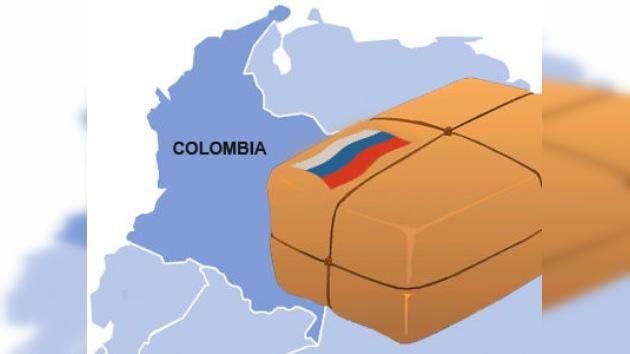 Rusia envía un avión con 25 toneladas de ayuda humanitaria a Colombia