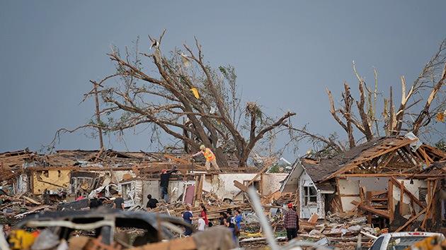 EE.UU.: Oklahoma tuvo solo 16 minutos para salvarse del tornado