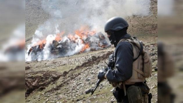 Policías antidrogas afganos entrenarán en Rusia