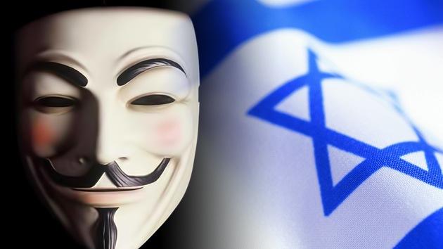 Al menos 600.000 israelíes caen víctimas de Anonymous