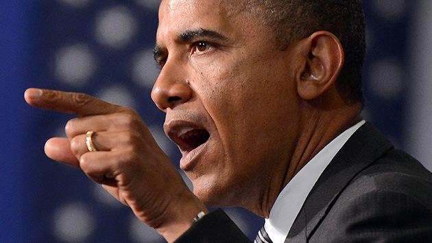 """'Cerco' al anillo de Obama: ¿lleva inscrita la frase """"No hay más dios que Alá""""?"""