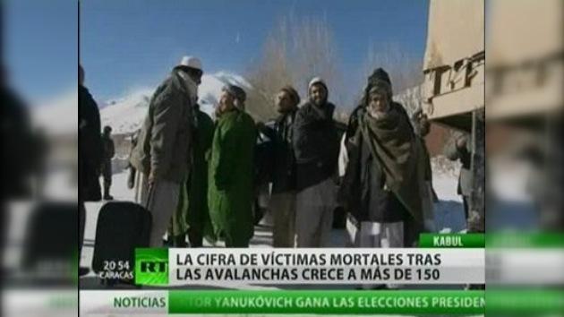 Crece el número de víctimas por avalanchas de nieve en Afganistán