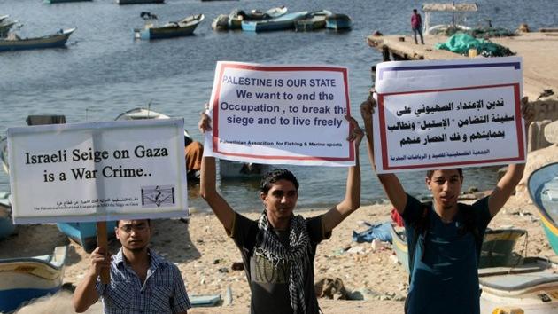 Encarcelan en Israel a los pasajeros del velero pro palestino Estelle