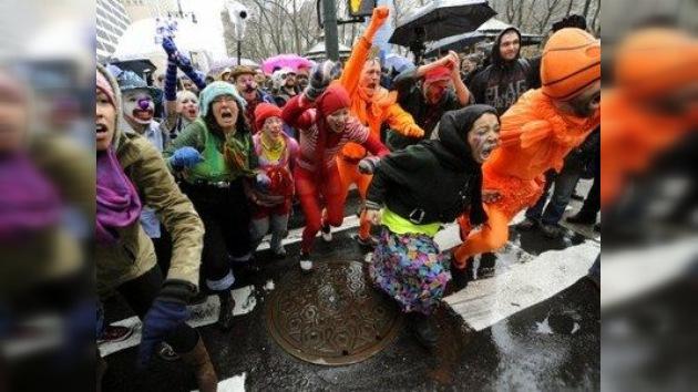 OWS: Cumple medio año 'estresando' a la elite y amenaza con ir a más