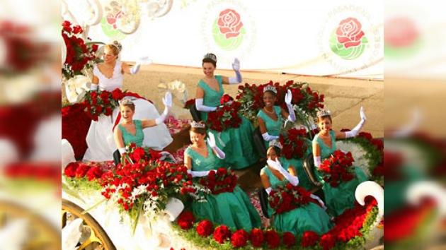 Se celebra el Desfile de las Rosas en Pasadena