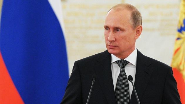 """Putin: """"No permitiremos que el Gobierno de Kiev destruya todo en Ucrania"""""""