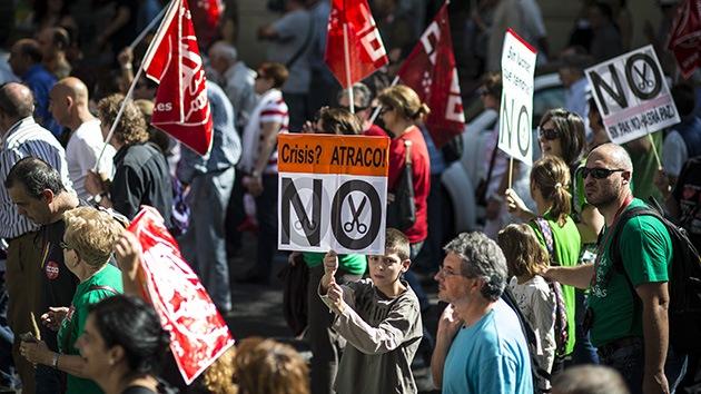 Madrid, atascada en una semana de huelgas y protestas