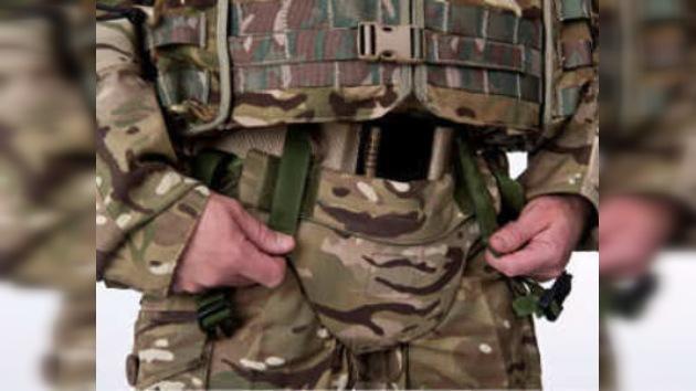 Calzoncillos blindados para proteger a las tropas británicas