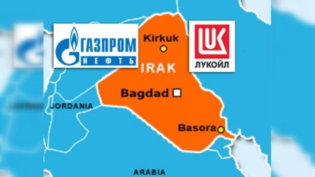 Las gigantes petroleras rusas van a Irak