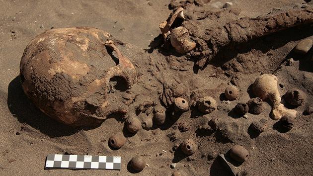 Fotos: Descubren un cementerio de una cultura hasta ahora desconocida en Perú