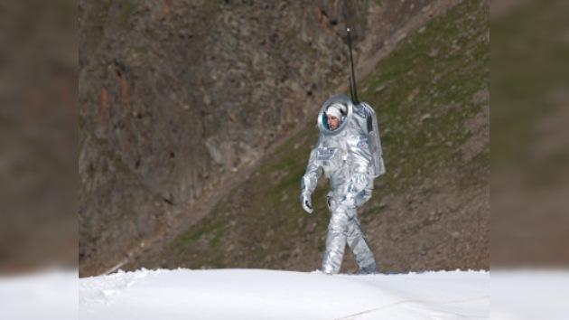 El glaciar Kaunertal, pasarela para la nueva 'escafandra marciana'