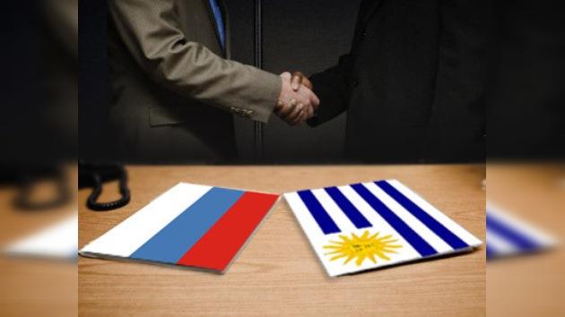 Rusia y Uruguay avanzan hacia una cooperación mutualmente ventajosa