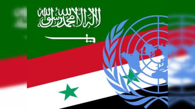 Arabia Saudita afirma que no presentó su proyecto de resolución contra Siria a la ONU
