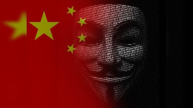 China sufre un ataque masivo de Anonymous