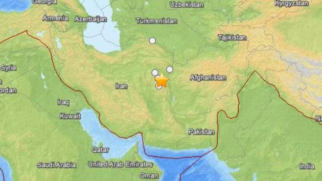Un sismo de 5,6 grados sacude Irán