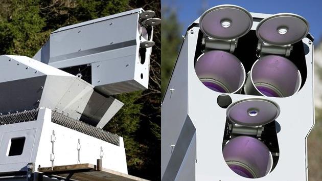Alemania crea un láser capaz de 'freír' drones y proyectiles minúsculos en pleno vuelo