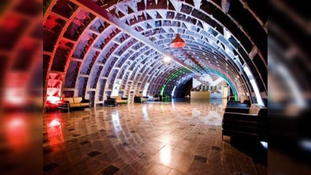 Un búnker secreto en el centro de Moscú se convierte en museo