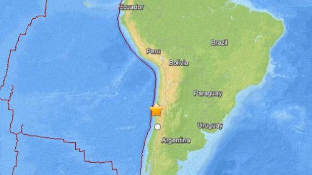 Un sismo de 6,1 grados en la escala de Richter sacude el centro de Chile