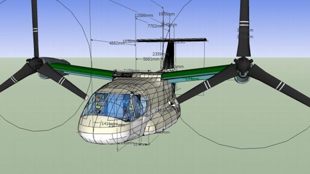 Rusia desarrolla un innovador helicóptero de alta velocidad