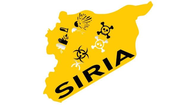Siria desmiente la información sobre la movilización de su arsenal químico