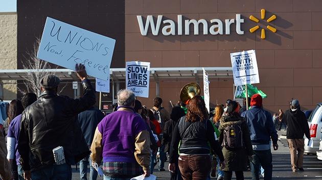 Fotos: 'Viernes Negro' de protestas de los trabajadores de Walmart