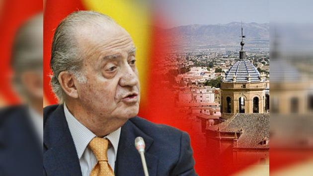 El Rey de España destinará el premio ruso a la reconstrucción de Lorca