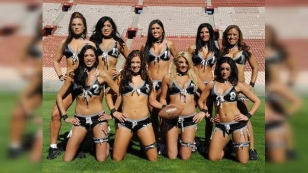 Fotos: La Liga de Fútbol Americano en Lencería prepara un tour mundial sexy