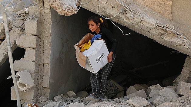 Cruz Roja: Los ataques aéreos en Siria e Irak agravan la situación humanitaria