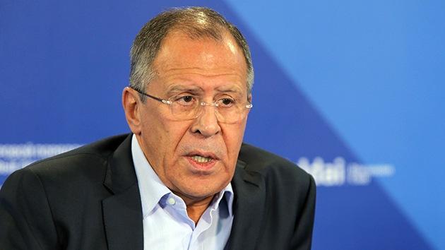 """Lavrov: """"A Occidente le molesta que Rusia defienda sus derechos en el mundo"""""""