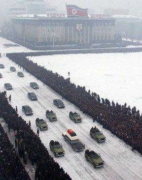 El funeral de Kim Jong-Il