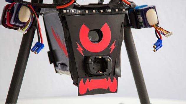 'Drone' centinela: crean un hexacóptero que produce descargas de 80.000 voltios
