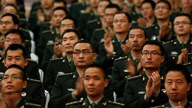 China intensifica este año la preparación de sus Fuerzas Armadas para el combate