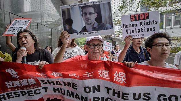 """""""Snowden es inocente. La culpa es del Gobierno estadounidense"""""""