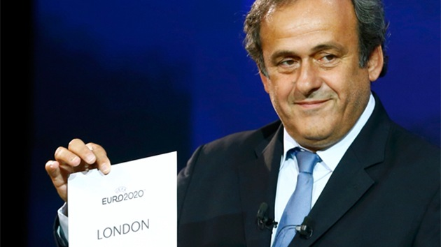 La UEFA anuncia las 13 ciudades que acogerán la Eurocopa 2020