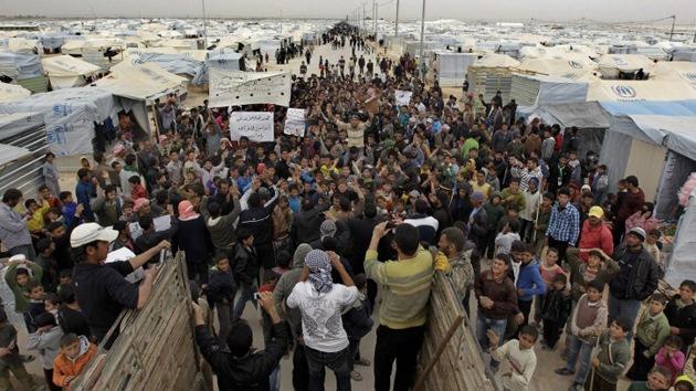 Refugiados en Siria (AFP / Khalil Mazraawi)