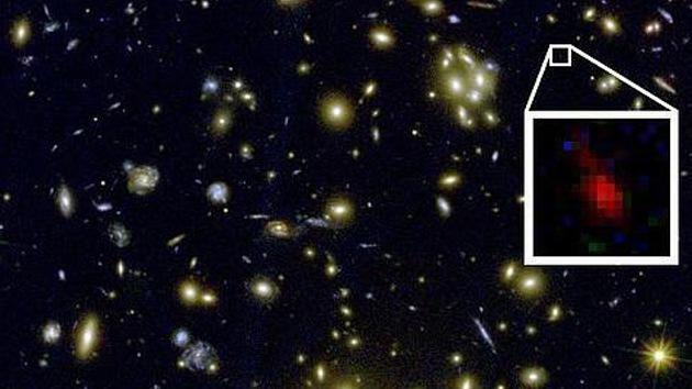 Descubren la galaxia más antigua