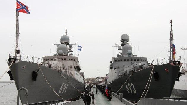 La Armada rusa acomete las mayores maniobras militares en décadas