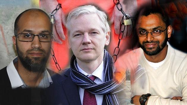 Sobrevivir a Guantánamo: Assange desnuda 'las entrañas' de la cruda vida en la prisión