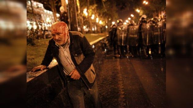 La policía de Georgia dispersa con el uso de la fuerza las protestas de la oposición