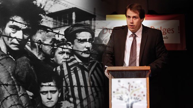 Bélgica reprueba a un político que dijo que los sionistas pagaron el Holocausto