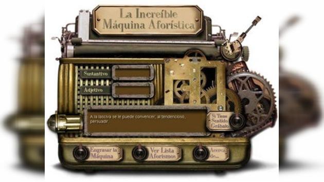 Inventan una máquina que crea literatura aleatoriamente