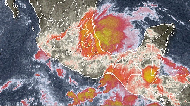 México: Amenaza de inundaciones y deslizamientos por la tormenta tropical Barry