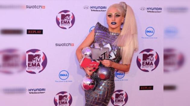Lady Gaga se consagra como la reina del pop en los premios MTV Europa