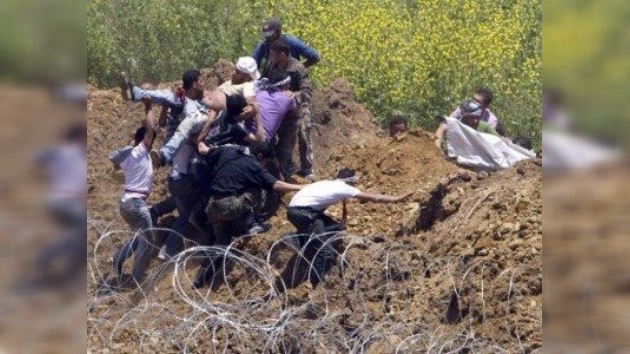 Más de 20 muertos en una protesta en la frontera entre Siria e Israel